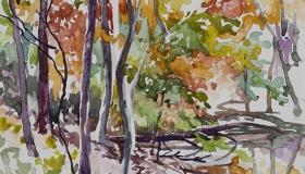 Pond in Novemeber [SOLD]