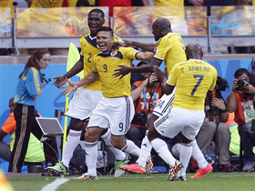 Brazil Soccer WCup Colombia Greece