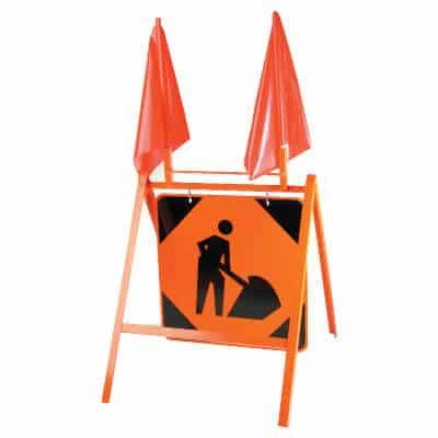 orange-a-frame-stand
