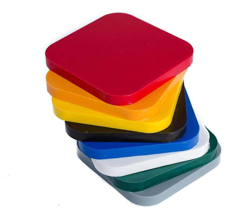 HDPE color options
