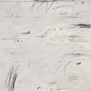 Cy Twombly, Poems of the Sea, 1959.