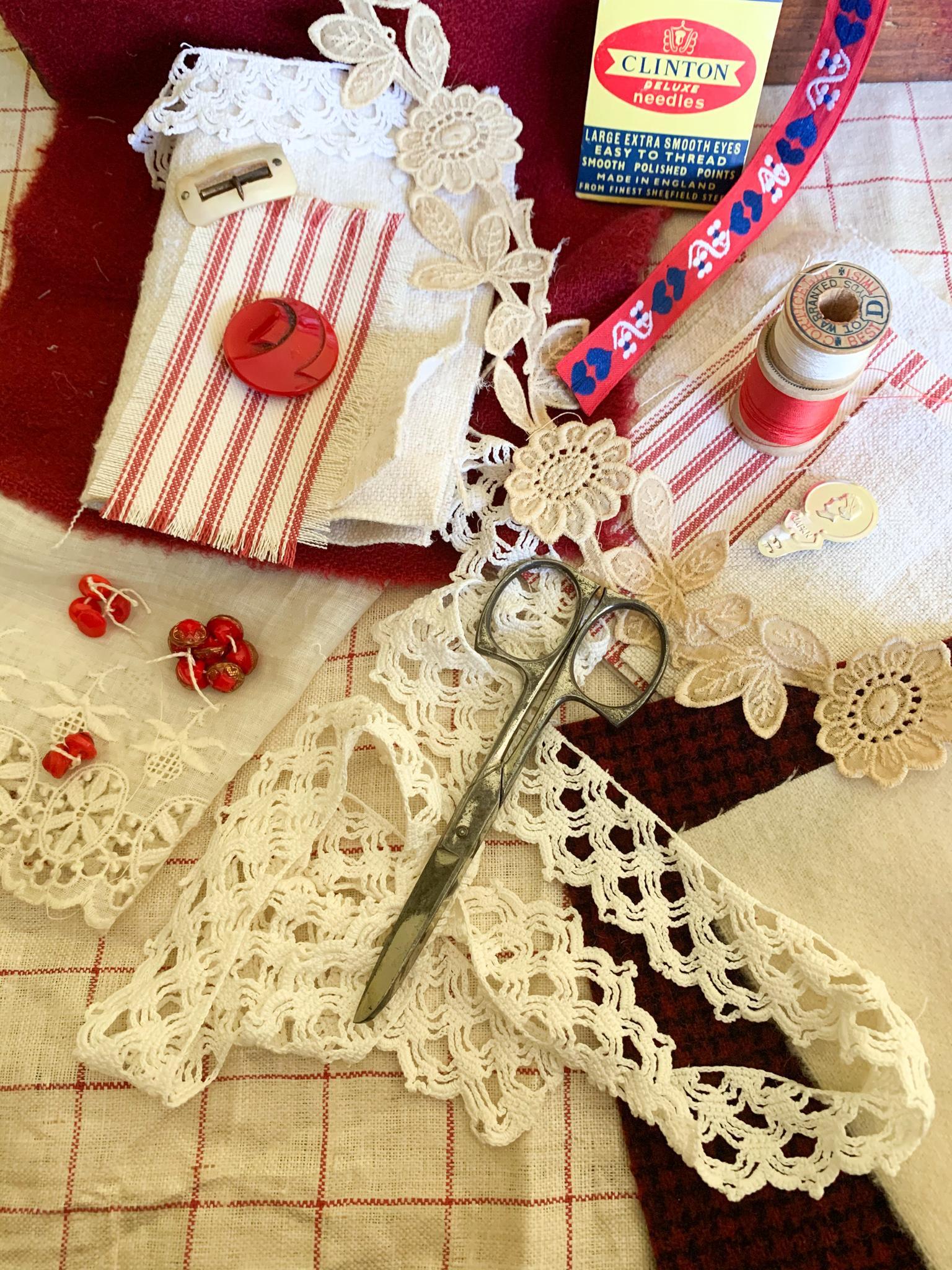 Materials for Needlekeeper