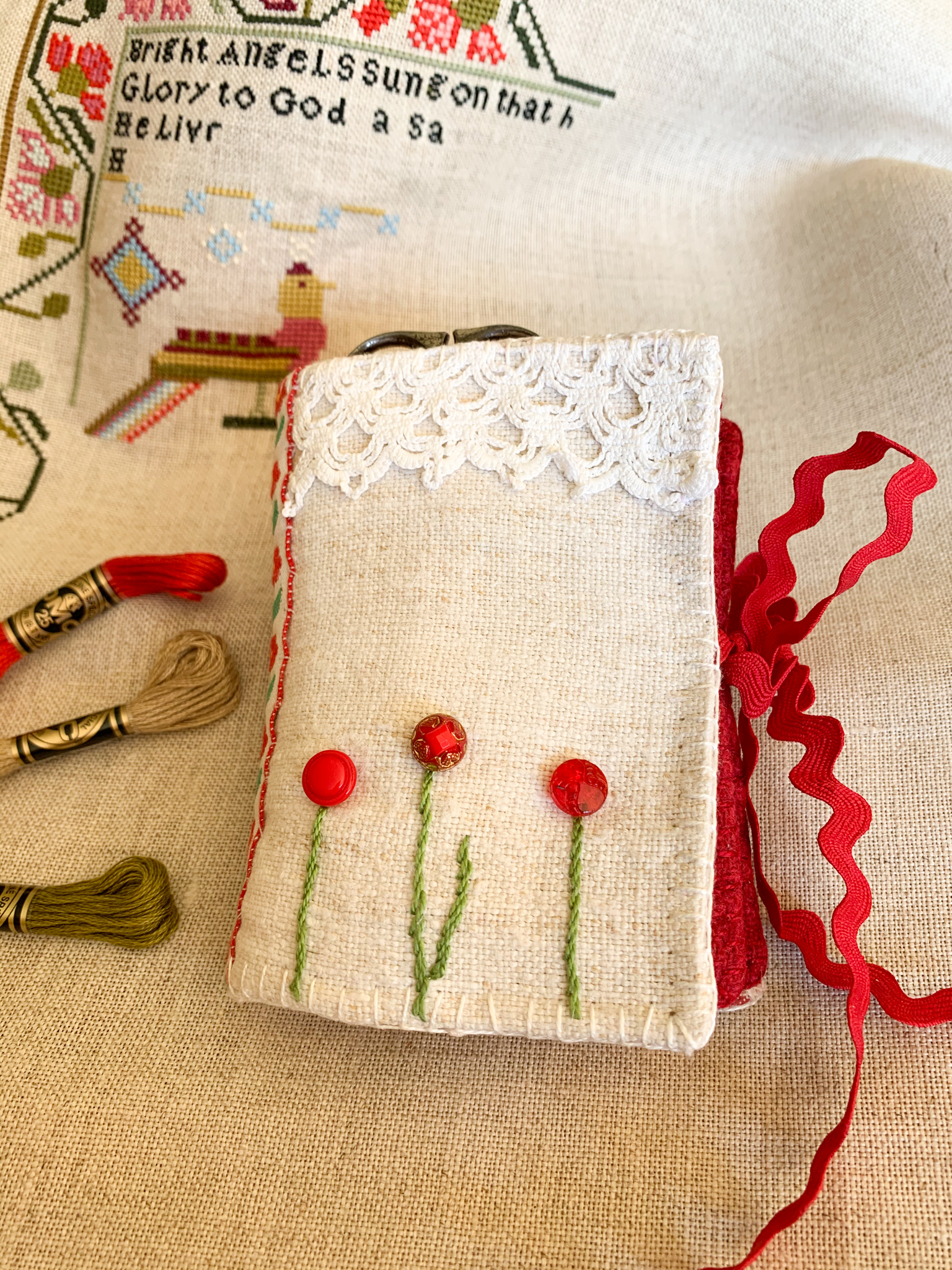 needle book front cover