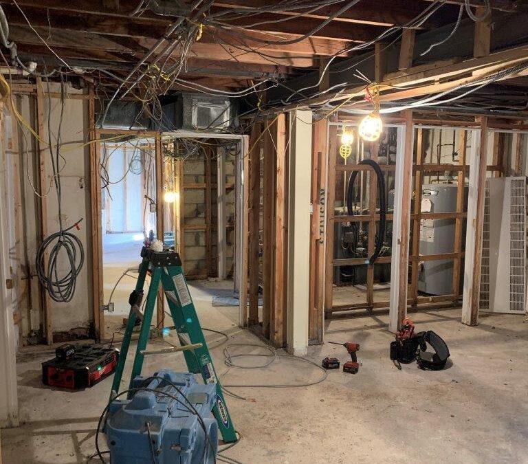 Queens Electrical Water Damage Repair Work 3