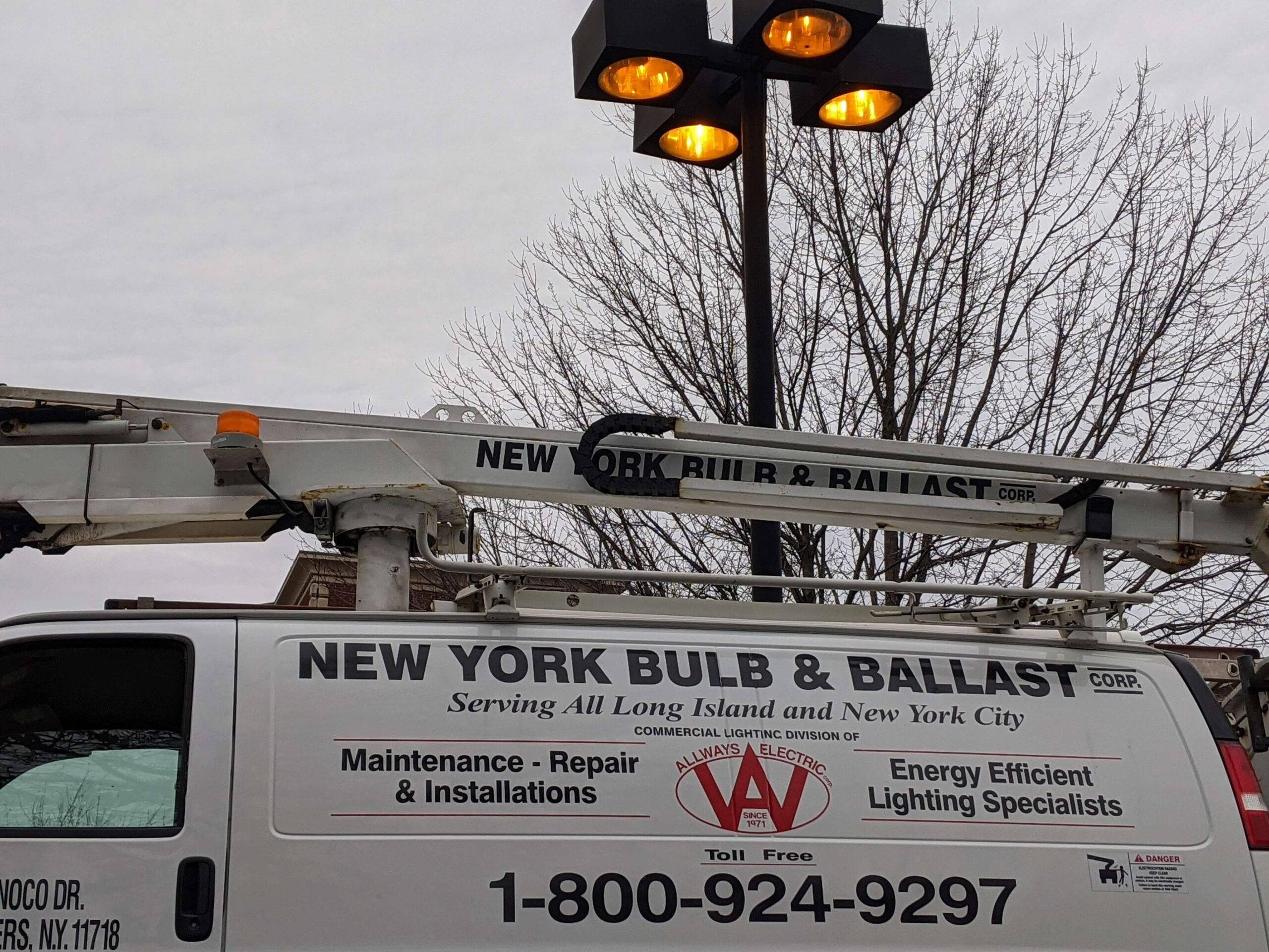 East Meadow Parking Lot Light Fixture Maintenance