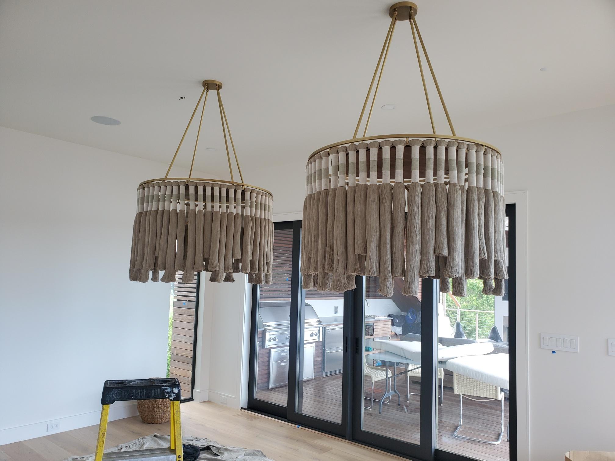 Custom LED chandeliers in Westhampton NY