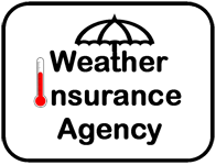 weather insurance agency logo
