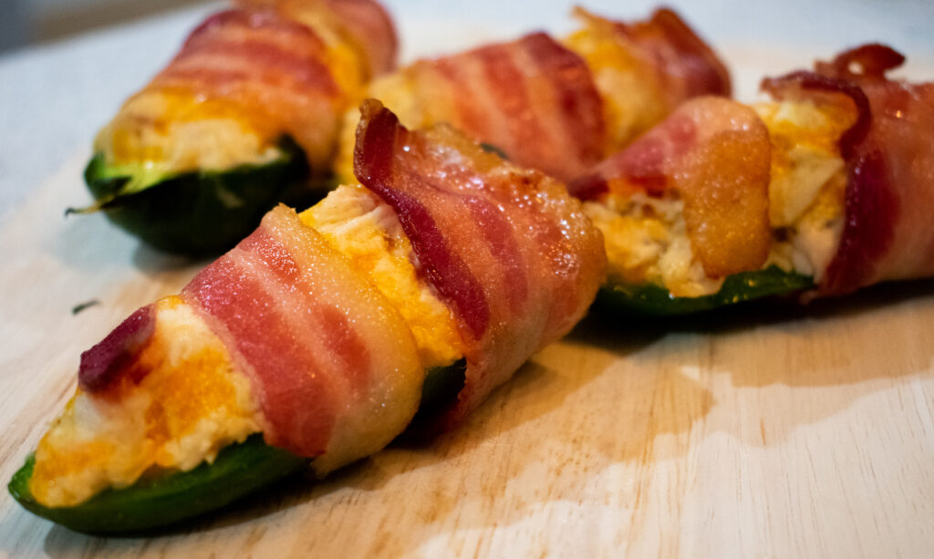 Baked Chicken Jalapeno Poppers