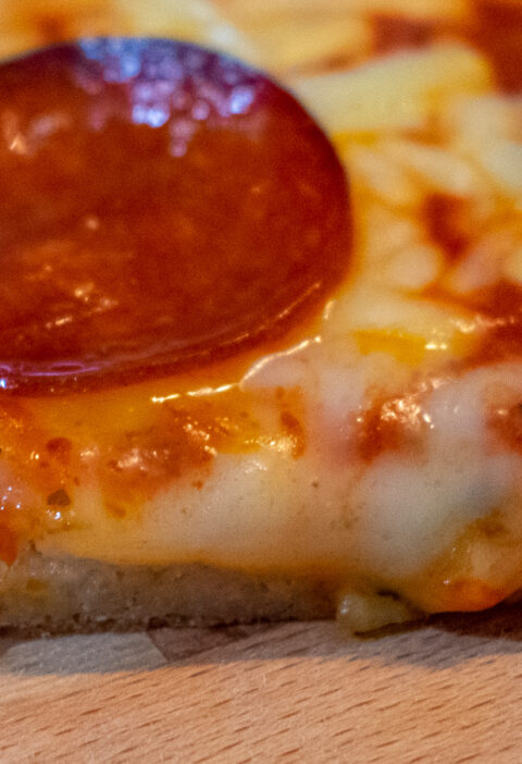 gluten free pizza crust shot