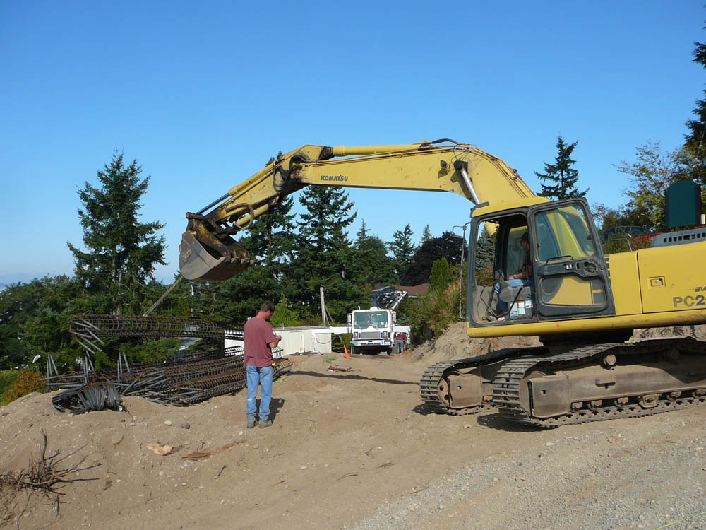 Terry Jensen Construction on vacant land before building a custom home.