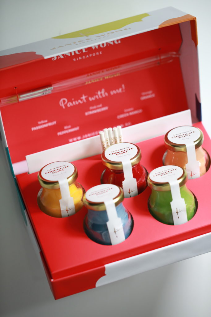 Janice Wong Chocolate Paint gift pack
