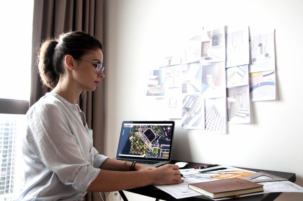 Evgeniya Lazareva at work