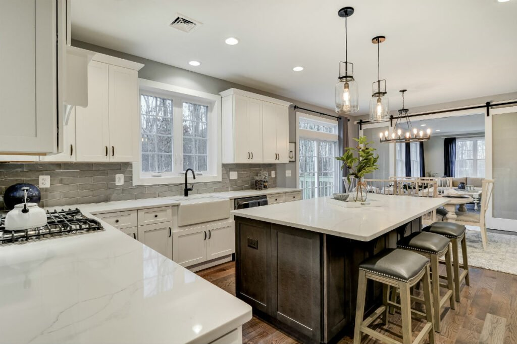 Kitchen - Interior of Home at Belaire Estates