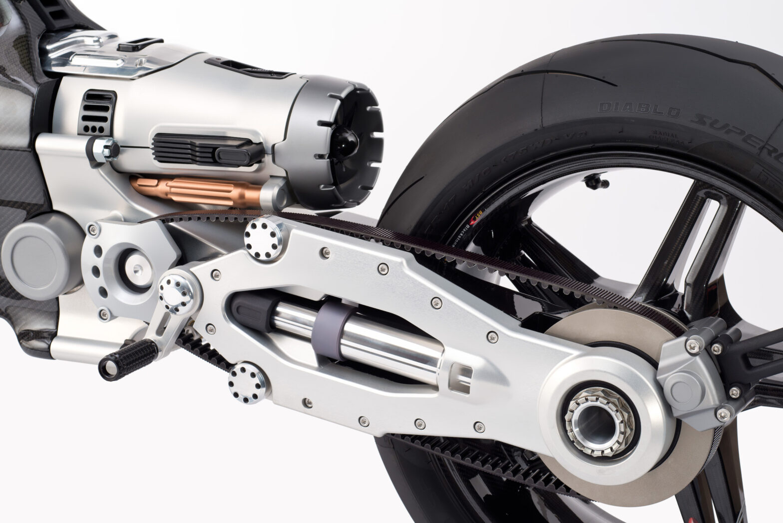 Blackstone Hypertek Electric Motorcycle Steals Everyone's Heart