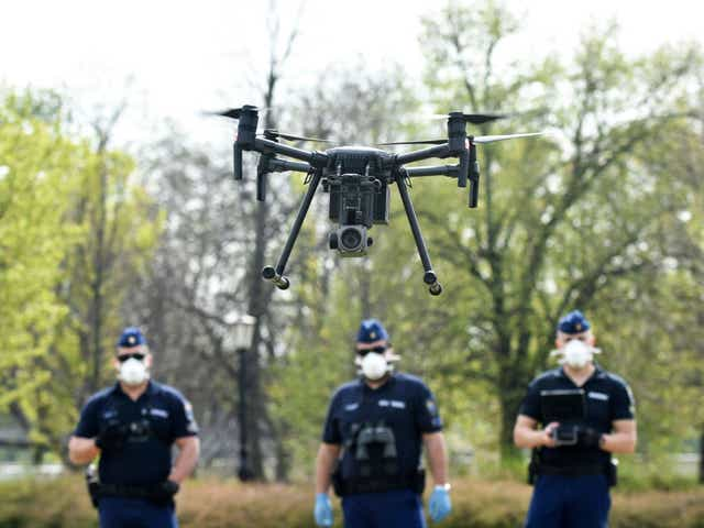 The Way Police Department in California Uses Drones