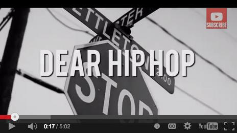 Bizzle – Dear Hip Hop