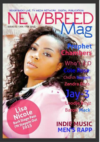 NEWBREED Magazine First Issue