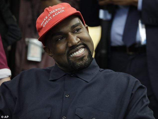 Kanye West: Praying for President Trump and Melania