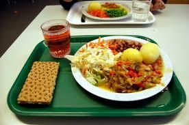 School Lunch Tray
