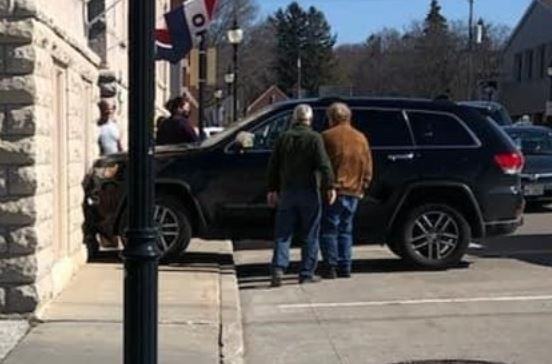 Dog Driving a Jeep Crashes Into Building