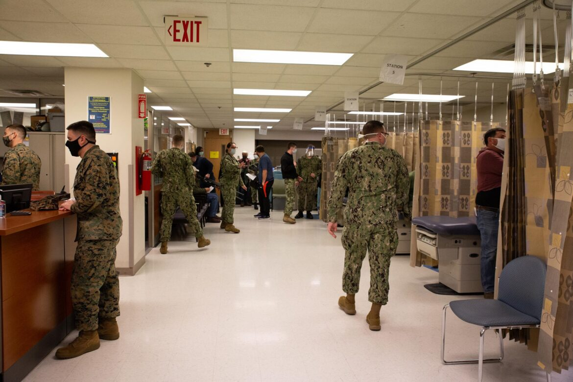 Nearly 40% of Marines Decline COVID-19 Vaccine – Biden Considering Making it Mandatory for Military