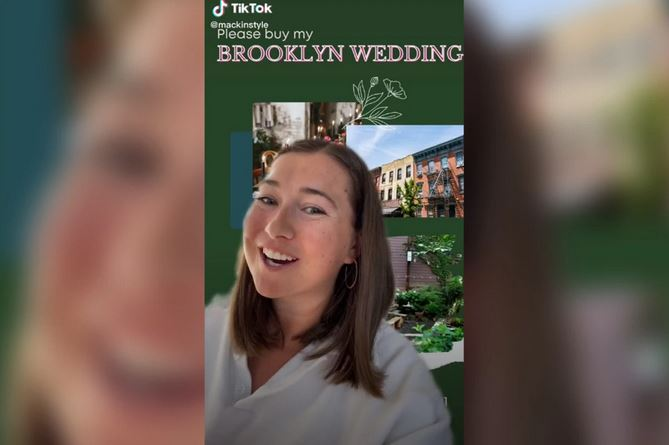 Woman Selling Her Wedding for $15K