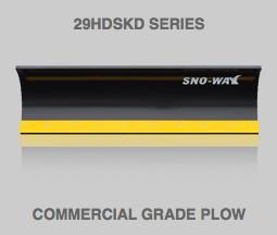 29HDSKD Series Snow Plow