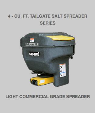 4 – cu. ft. Tailgate Salt Spreaders Series