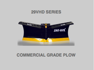 Flared 29VHD Series Snow Plow