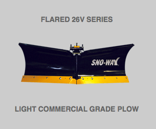 5-Flared 26V Series Snow Plow