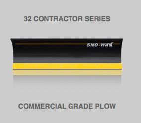 32 Contractor Series Snow Plow