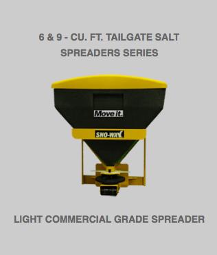6 & 9 – cu. ft. Tailgate Salt Spreaders Series