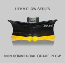UTV Flared V Plow Series Snow Plow