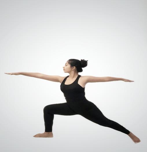 Virabhadraasana (Warrior pose)