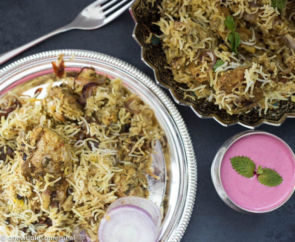 Telugu Chicken Biryani