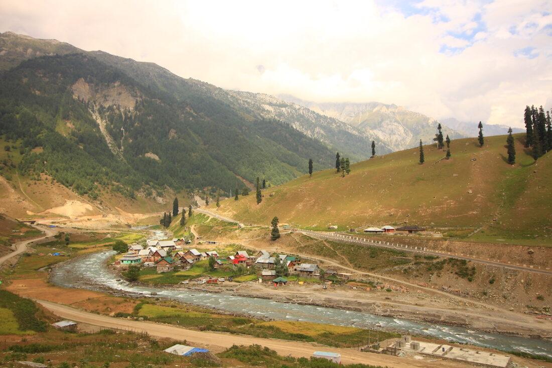 View of village Sheet Pathri, Sonamarg
