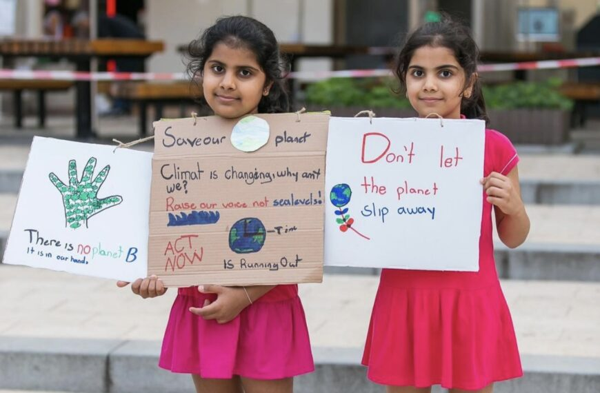 Sisters in action – Fighting Climate Change