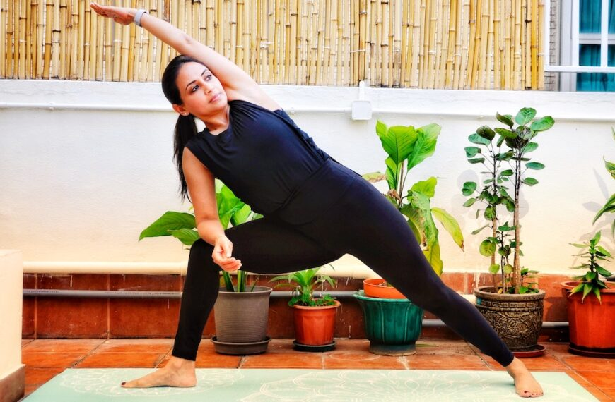 A 10-Minute morning yoga sequence
