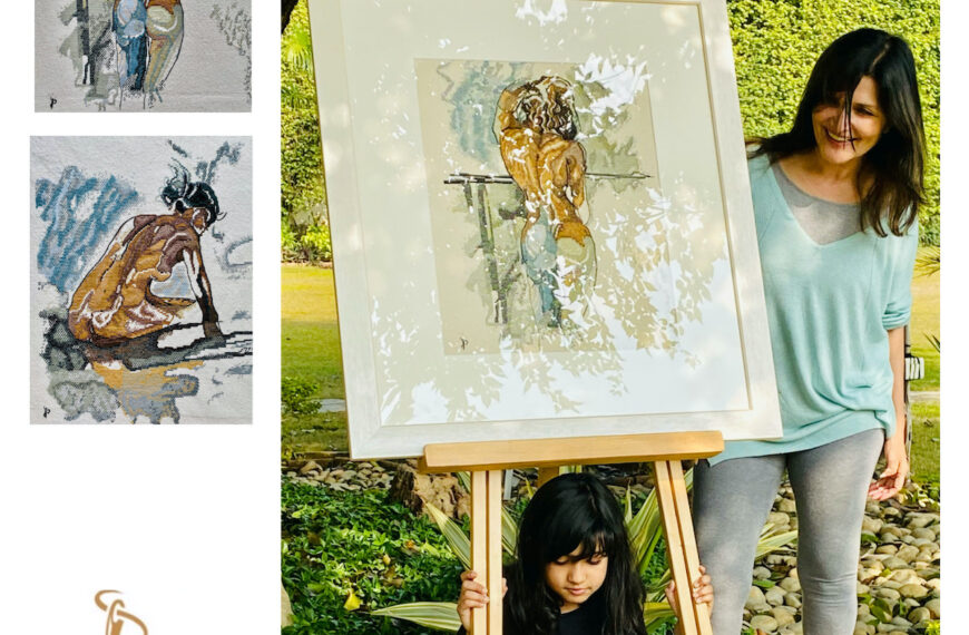 Tapestry Artist, Poet and Writer: Puja Bhakoo