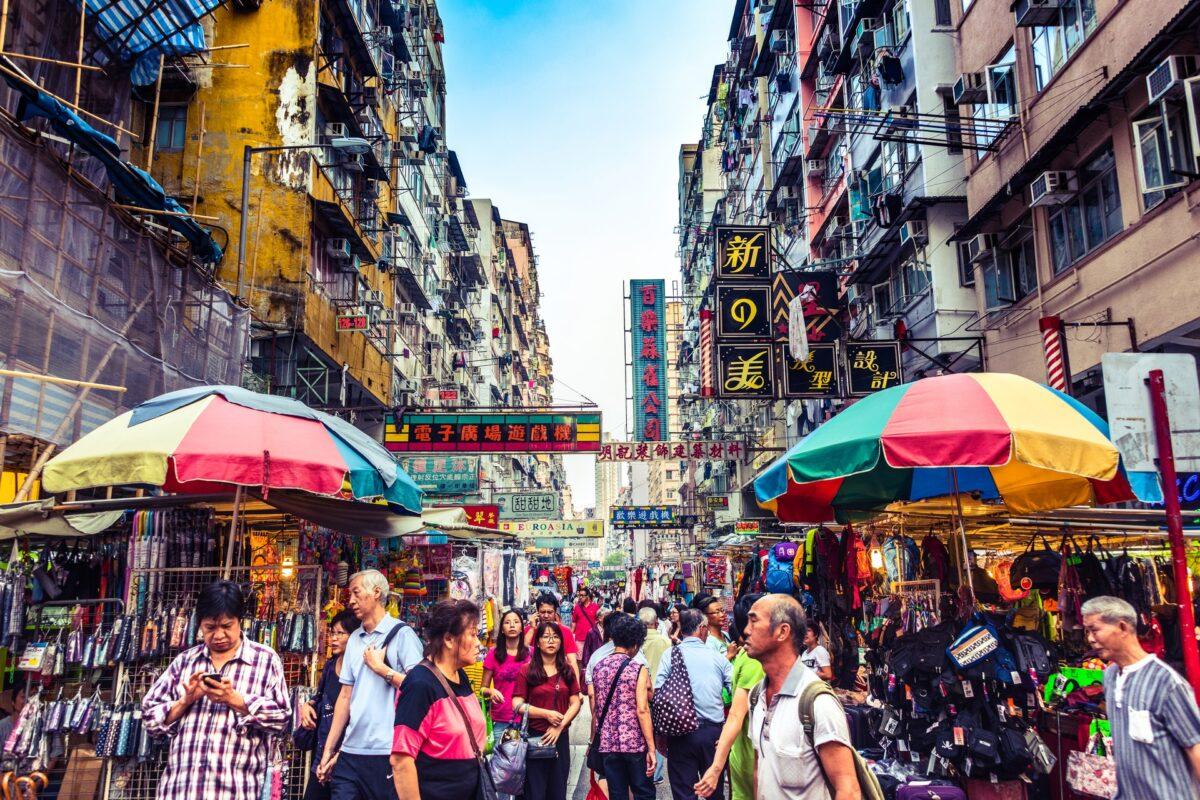 In a Corner of my City – Hong Kong