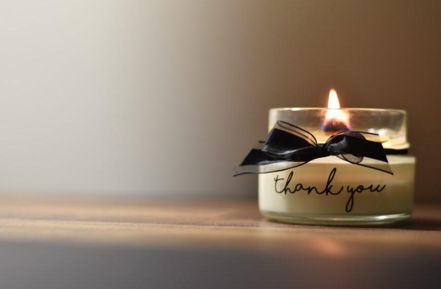 Saying Thank-You