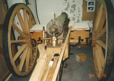 1862 British bronze 6 pdr field gun