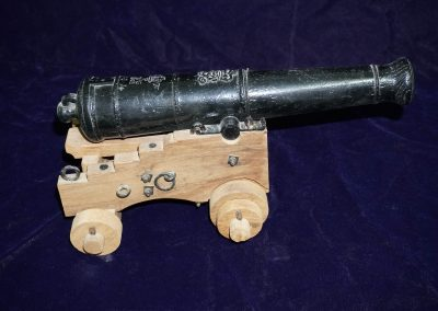 1:15 scale British naval cannon