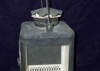 Reproduction of British 'two-way' castle lantern