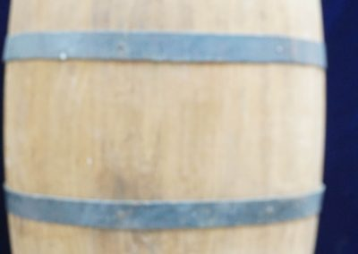 1850s British powder barrel