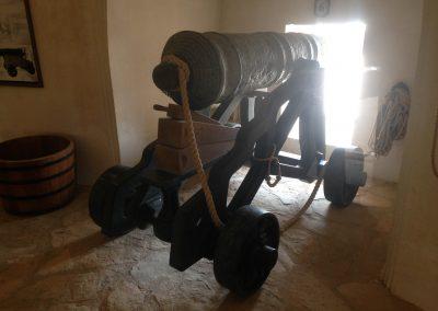 Garrison gun at Al Hazm