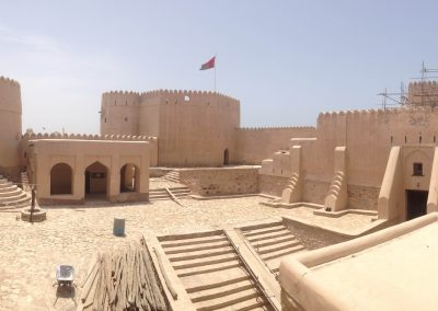 View of Barka castle