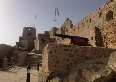 View of Mutrah castle