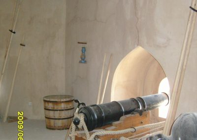 New HAEF cannon carrige at Barka