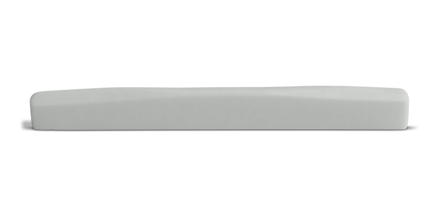 Bone Saddle Fits Many Blueridge Guitars Single Wave Compensated 16 Inch Radius 75 mm Length Straight